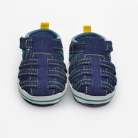 Wholesale Baby Boy Summer Blue Sandals Age Years Newborn Baby Summer Sandals For First Baby Shoes Save Rubber Sole Baby Boy Shoes