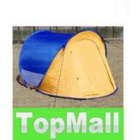 Wholesale Man POP UP Tent Outdoor Camping Dome Tent Family Festival Tent cm cm T LLFA25