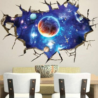 beautiful small bathroom - D Outer Space Wall Stickers Home Decor Mural Art Removable Galaxy Wall Decals beautiful wall art