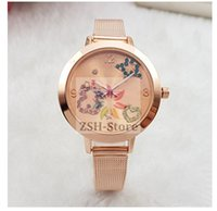 analog clock picture - New Pattern Fashion Atmosphere Earth Picture Clock dial Calendar Ladies Watch Fashion Luxury Quartz Wristwatch factory