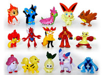Wholesale 144pcs a Poke Figures Monster Action Figures All kinds of lovely of elf Different Styles Monster Mini Figures Toys for children gift