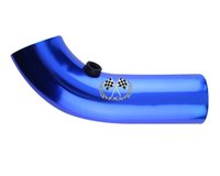 Wholesale Universal Air Intake Pipe L x D Short Type Blue Red Silver universal fitment have stock ready to ship
