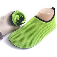 Wholesale Mesh Sandals for Woman Men Flat Wade Beach Shoes Swimming Shoes sapato feminino Summer Breathable sandalias mujer