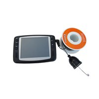 Wholesale Fish Finder Underwater Video Camera TV Line quot LCD Monitor M Cable degree Wide Angle Fishing Tackle