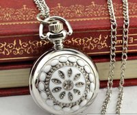 Wholesale newest good quality nice vintage small cheap promotions pocket watch for children christmas gift