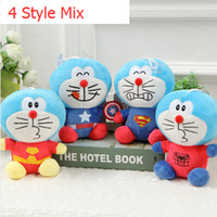 wholesale dora - HOT SALE Chirdren cm Doraemon Cat Doll Dora A Dream Viking Cute Funny Unisex Plush Kids The New Blue fat Doll Plush Toys