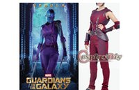 Wholesale Custom Made Guardians of the Galaxy Nebula Costume Suit Outfit Uniform Adult Women s Halloween Cosplay Costume