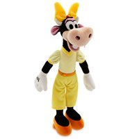 baby model japan - Limited Collection Original Rare Japan Clarabelle Cow Cute Animal Plush Toy Doll model kids baby Birthday Gift Very cute toys