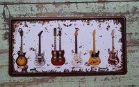 art concert posters - 15x30cm CLASSIC GUITAR Vintage Metal Tin Sign Decor Bar Pub Home Concert Wall Poster Art CP638