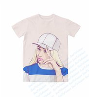 azalea size - Real USA Size iggy azalea D Sublimation print custom made T Shirt Plus size
