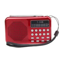 Wholesale Malloom Universal USB Stereo Speaker Portable Radio TF Card Speaker FM Radio MP3 Digital Speaker with LED Screen MA9