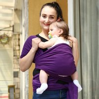 baby front carrier cover - 2016 Hot Colorful Baby Carrier Soft Infant Wrap Breathable Infant Sling Hipseat Breastfeed Birth Comfortable Nursing Cover