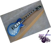 ace oem - Guitar Factory Custom Shop Ace Frehley Electric Guitar Blue from china OEM Guitar