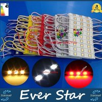 Wholesale 500pcs Led Modules W LEDs High Brightness Injection Led Lights Modules Case V Waterproof IP65 Warranty Years