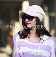 Wholesale Korean Fisherman Cap Spring Summer Female Cotton And Linen Dome Hat Fashion Casual Sun Hat Black Gray Pink