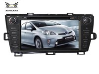 Wholesale 4 UI intereface combined in ONE system quot CAR DVD PLAYER FOR Toyota Prius BLUETOOTH GPS radio tv NAVI Free map camera