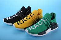 best camping lighter - Price NMD Human Race Runner Boost Running Shoes Breathable Wear Best Quality Lighter Sport Shoes Sneaker US5