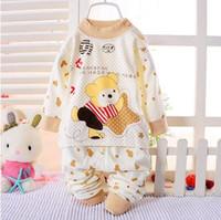 Cheap Unisex Children's underwear sets Best Winter 100% Cotton Cotton clothes