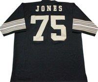 Wholesale Deacon Jones Black Legends Collection HOF Jersey shirts size S small xl