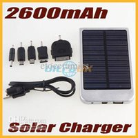 Wholesale Lots50 mAh Portable Solar Mobile Charger For Mobile Phones Digital Camera PDA Mp3