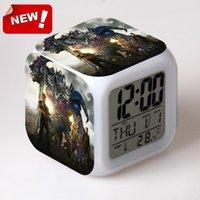age calendar - Transformers Age of Extinction Alarm Clock Led Light Color Change Orologio Digitale Watch Relogio De Mesa Car Bedside Led Digital Digital