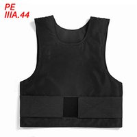 Wholesale New Arrival PE Ballistic Vest NIJ IIIA Police Body Armor Military Combat Bulletproof Vest Anti Stab Tactical Vest Free Size ME0016