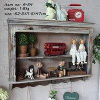 Wholesale Retro Finishing Storage Cabinet Nostalgic Wall Hanging CM