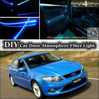ambient lighting ford - DIY Tuning Atmosphere Fiber Optic Band Lights interior Ambient Light For Ford Falcon Fairmont FTE TE50 TS50 Door Panel illumination Refit