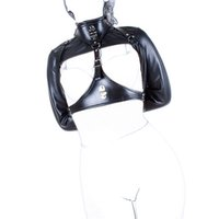 Wholesale Black Sexy Bondage Fetish BDSM Hand Restraints Arm Binder Adult Toy for Couples Bondage Erotic Game Sex Products for Adult Game