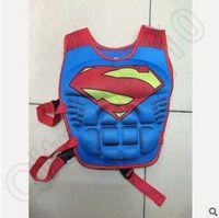 Wholesale 300pcsc CCA3721 Baby Life Jacket Vest Batman Superman Spiderman Princess KT Mickey Drifting Vest Catoon Kids Life Vest Rafting Life Jackets