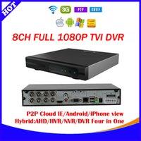 Wholesale New ch p TVI recorder cctv video surveillance camera security system Hybrid TVI AHD DVR NVR in Video Recorde