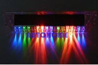 Wholesale 120 x New Auto Light Prevent Rear end Warning Rider Lamp Car Solar Flash Lights Led order lt no track