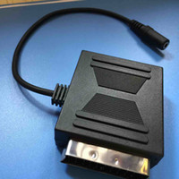 Wholesale 21PIN SCART Male TO PIN Scart Female With mm Stereo jack
