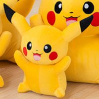 Wholesale Pikachu Plush dolls cm inch Poke plush toys cartoon poke Stuffed animals toys soft Christmas toys best Gifts from daigua888