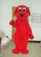 Wholesale Red Dog Clifford mascot costume Suitable for the different festivals