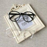 big round eyeglasses - 2016 New Vintage Eyeglasses Men Fashion Eye Glasses Frames Brand Eyewear For Women Ala Lei Models Big Round GlassesL