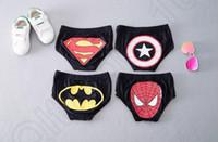 batman swim trunks - Kids Superman Swimming Short Pants Children Cartoon Swimming Trunks Boys Spiderman Batman Captain America Swimming Pants Colors LJJQ148
