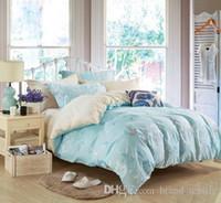 Wholesale Cotton brand reactive printing bedding set king size queen size Autumn Whisper
