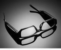 Wholesale 10pcs HD x1080P Spy Glasses Camera No Hole glasses Camcorder Digital Video Recorder Hidden Eyewear Camera DVR Support GB TF Card