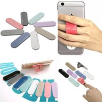 band stickers - Multi Band Washable Reuse Smart Finger Grip Self Standing Sticker Magic Ring Bracket Phone Holder For iphone SE s Samsung S6 S7 edge Plus