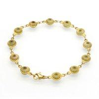 bar turkeys - Stainless Steel Jewelry Gold Bracelets Bangles Summer Style Female Charm Bracelet Evil Eye Bracelets For women Turkey Jewelry