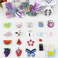 animal patches for clothes - embroidered sequined beaded rhinestone pearl fruit animal d sew on small patch for clothing collar bag shoes decorative diy accessories434