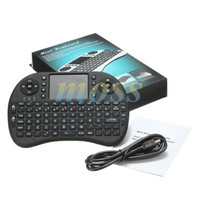air free tv - Rii Air Mouse Wireless Handheld Keyboard Mini I8 GHz Touchpad Remote Control For MX CS918 MXIII M8 MX3 M8S TV BOX Game Tablet DHL Free