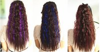 Wholesale 60cm long high quality pony tail hair extension wavy pony tail hair pony tail