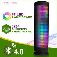 Precio de La iluminación universal,-Altavoz ideal de Bluetooth en la luz de la fantasía La música 4.0 Altavoces sin hilos al aire libre Altavoz sin manos portable del pulso Tarjeta del TF USB