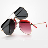 big brows - 2016 new design sunglasses for men and women brows Big frame square joker sunglasses outdoors travel hot style sunglasses