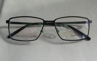 Wholesale High quality Men Full rim Pure Titanium eyeglasses frame Medium size