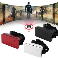 Wholesale VR Virtual Reality D Glasses Headset Oculus Rift Head Mount D Movies Games For inch Phone