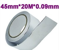 aluminum foil duct tape - mm m mm Aluminum Foil Heat Shield Tape Temporary Exhaust Pipe Ducts Repairs Duct Tape High Temp Resistant