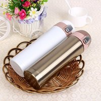 Wholesale new travel mug Office Tea Coffee Water cup bottle stainless steel thermos cup